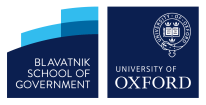 Oxford University, Blatnik School of Goverment logo