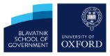 blavatnik school of government and oxford university logo